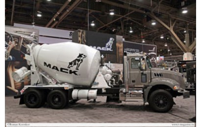 Mack Trucks на выставке World of Concrete 2018