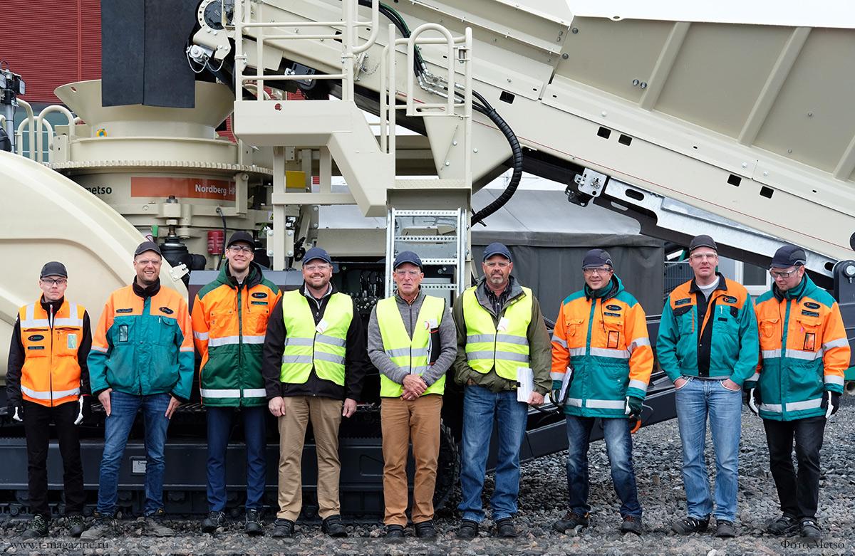 Команда Metso подготовила дробильное оборудование для холодов